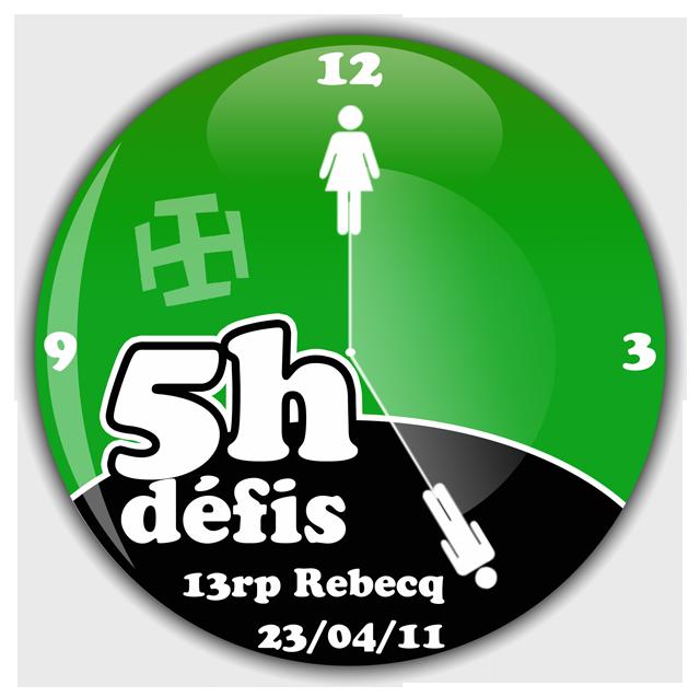 Logo 5 Heures Défis